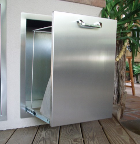 Vtd1 New Rcs Brand Stainless Steel Pull Out Trash Drawer