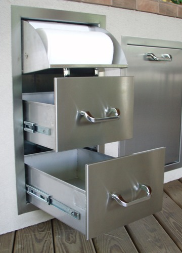 rthc1 new rcs brand stainless steel drawer and paper